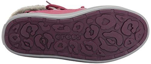 Crocs Lodgepoint Lace Boot, Botines para Mujer Viola (Pomegranate)