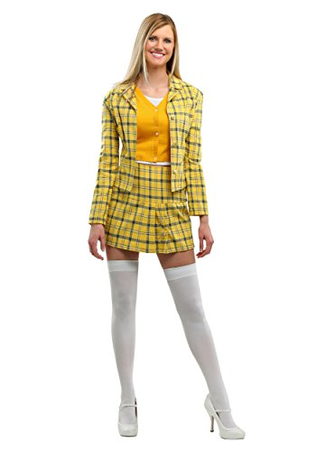 Cher Clueless Costume Officially Licensed Clueless Costume for Women X-Large Yellow]()