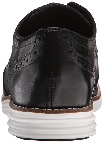 Cole Haan Mujeres Original Grand Wingtip Oxford Black / Optic White Nuevo