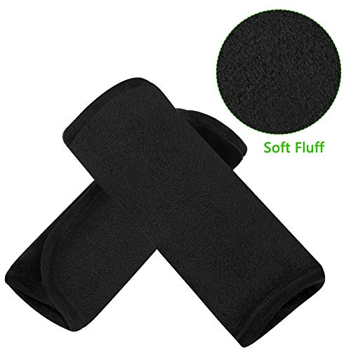 Accmor Baby Car Seat Strap Covers, Car Seat Strap Pads, Baby Seat Belt Covers, Stroller Belt Covers, Baby Head Support, Baby Shoulder Pads, Made of Soft Fluff Car Seat Strap Pads