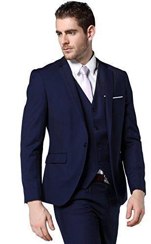 Mogu Costume Mogu Homme Bleu Bleu Costume Pour Mogu Pour Homme gBp74qPxw