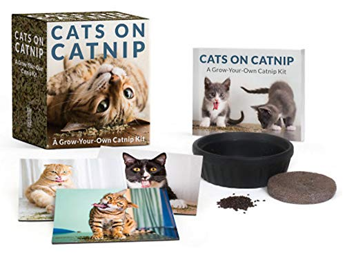 Cats on Catnip: A Grow-Your-Own Catnip Kit (Miniature Editions)