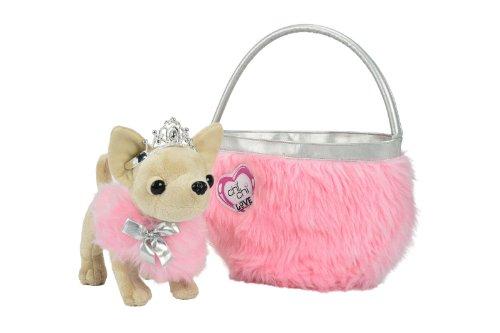 Simba 105890618 - Chi Chi Love Beauty Princess Plüschhund 20cm