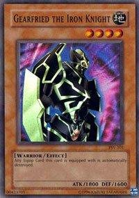 (Yu-Gi-Oh! - Gearfried the Iron Knight (PSV-101) - Pharaohs Servant - 1st Edition - Super Rare)