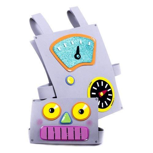 DISFRAZ ROBOT GOMA EVA para niños: Amazon.es: Handmade