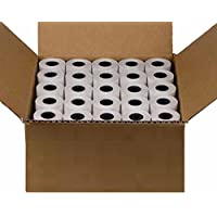 2-1/4 x 55 1-Ply Thermal Paper 50 Rolls BPA Free Nurit 8000 8010 FD400