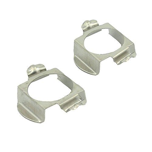 H7 LED Headlight Bulb Clips Holder Socket Base Adapter For Mercedes Benz C200 C300 C350 B260 B200 GLA200 GLA260 GL350 GL450 (2 PCS)