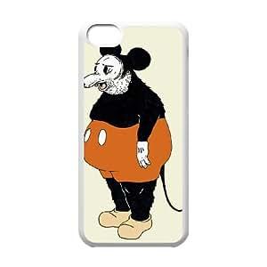 iPhone 5c Cell Phone Case White Mickey Da Rat SH3914770
