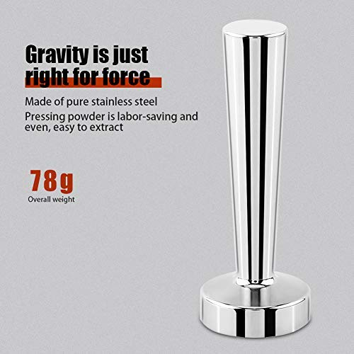 Mavis Laven Stainless Steel Coffee Tamper Professional Espresso Hand Tamper Barista Family office Cafe Restaurant Coffee Tool