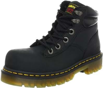 Dr. Martens Burham ST Work Boot,Black Industrial Greasy,10 UK/12 M US Women's/11 M US Men's