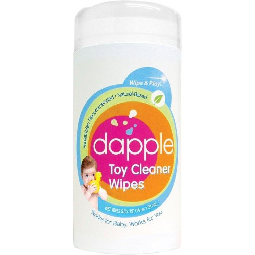 Dapple Toy and Surface Wipes – 75 Ct, Pack of 2, Baby & Kids Zone