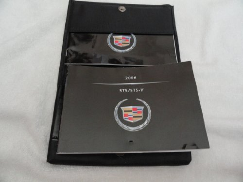 Original 2006 Cadillac STS and STS-V Owners Manual