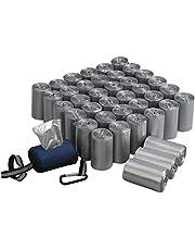 Qsbon 1400 Dog Pet Waste Poop Bags, Leak-Proof Poop Bags Dog Waste Bags, 40 Rolls + 1 Dispenser