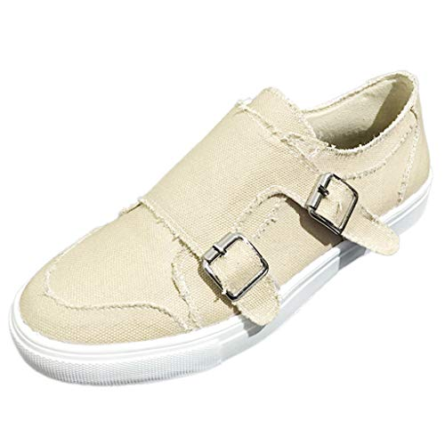 Matasleno Women's Walking Tennis Shoes - Lightweight Athletic Casual Gym Slip on Sneakers Beige 36' Knee Length Lab Coat