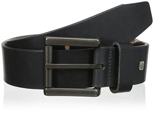 Steve Madden Mens 40Mm Bridle Belt Black