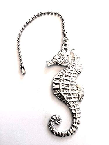 1099CFP Ceiling Fan Pull Seahorse Pewter
