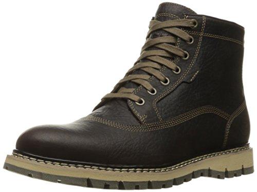 Timberland Men's Britton Hill Cap Toe Chukka WP Boot, Dark Brown Full Grain, 12 M US Waterproof Classic Chukka