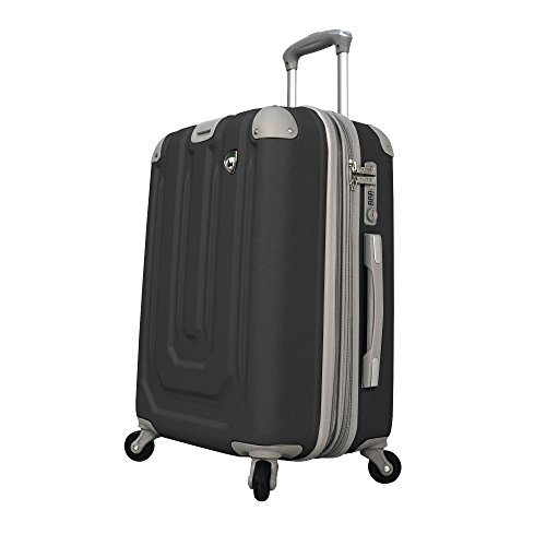 mia-toro-luggage-pastello-composite-hardside-spinner-carry-on-black-one-size