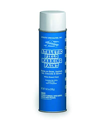 Athletic Specialties  Field Marking Paint Case of 12 Cans, White