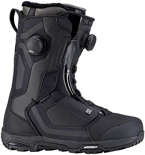 Ride Mens Snowboard Boots - Ride Insano Focus 2019 Snowboard Boot - Men's Black 11.5