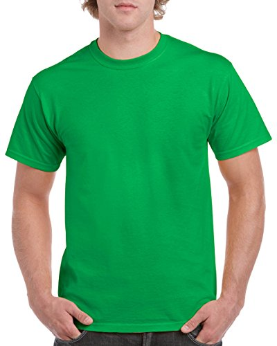 Gildan 5.3 oz. Heavy Cotton T-Shirt, Small, Irish Green