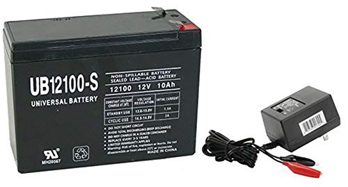 Universal Power Group 12V 10AH Battery for Hello Kitty 12V SUV Model #8802-33 with Charger