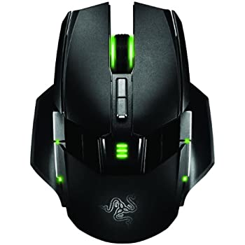 Razer Ouroboros Elite Ambidextrous Wired or Wireless Gaming Mouse - 8200 DPI 4G Laser Sensor