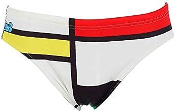 MIWS Mondrian Bañador de natación, Hombre: Amazon.es: Ropa y accesorios