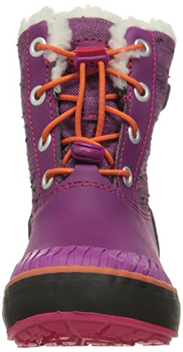 KEEN Elsa WP Kinderwinterschuhe purple wine/tigerlilly