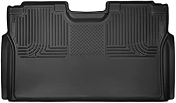 Husky Liners 53491 X-act Contour Series Black 2nd Seat Floor Liner Full Coverage