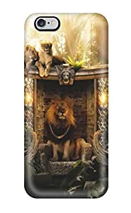 For HowellGraves Iphone Protective Case, High Quality For Iphone 6 Plus Lions Home Skin Case Cover