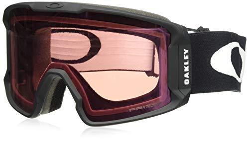 Oakley Men's Line Miner Snow Goggles, Matte Black, Prizm Hi Pink, Large (Oakley Snowboard Goggles Pink)