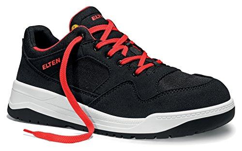 Elten Maverick Black Sicherheitsschuhe S1P, Farbe:schwarz;Schuhgröße:47 (UK 12)