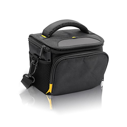 FOSOTO Waterproof Camera Case Bag for Nikon Coolpix L340 B500 L330 L840 L830 L620 , Canon PowerShot SX400 SX410 SX420 SX530 ,Sony Alpha a6000 Nex7 HX400 Pentax Olympus Sp