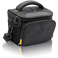 FOSOTO Waterproof Camera Case Bag for Nikon Coolpix L340 B500 L330 L840 L830 L620 , Canon PowerShot SX400 SX410 SX420 SX530 ,Sony Alpha a6000 Nex7 HX400