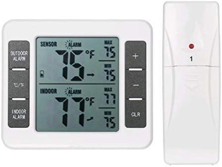 Termómetro de nevera digital LCD grande, termómetro de congelador ...