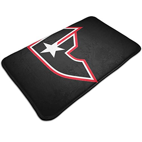 YOHHOY Famous Stars and Straps Logo Memory Foam Toilet Bath Mat Maximum Absorbent Soft Comfortable Non-Slip Thick Bathroom Commode Contour Rug Perfect for Door Mat (20