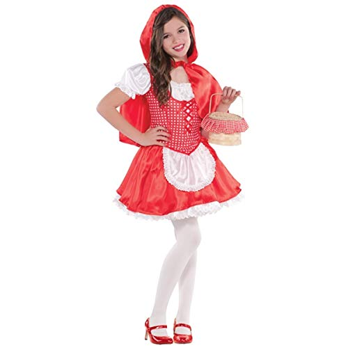 Girls Lil Red Riding Hood Costume - X-Large (14-16) | 2 Ct.]()