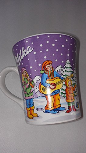 Milka German Mug Coffee Cup Cocoa Weihnachtsbecher No 10 Christmas Santa Holiday