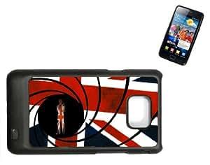 Samsung Galaxy S2 i9100 Hard Case with Printed Design JAMES BOND by icecream design