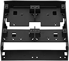 Richer-R Hard Drive Bracket 2.5 3.5 HDD//SSD to 5.25 Floppy-Drive Bay Computer Mounting Bracket Adapter