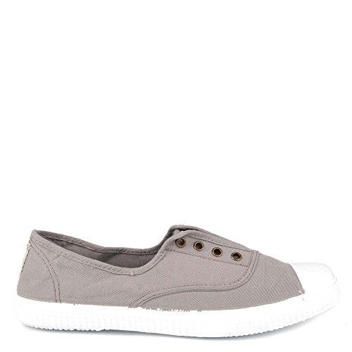 Victoria Inglesa Elastico Tenido Punt, Women's Low-Top Sneakers Grey