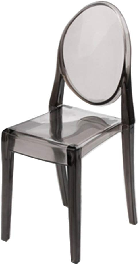 4pcs 1//6 Dollhouse Plastic Chair Armchair for 12inch Doll Accessories Clear