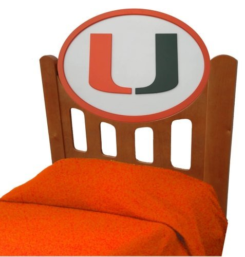 UPC 878460007590, Adventure Furniture C0526S-Miami University of Miami Stained Headboard- Twin Size