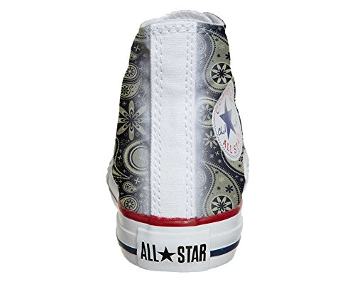 mys Converse All Star Customized - zapatos personalizados (Producto Artesano) Indian Paisley