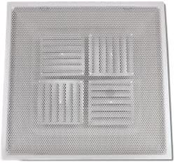 Shoemaker 780 10 White Adjustable Pattern T-Bar Perfortated