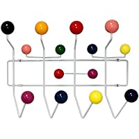 Mod Made Mid Century Modern Bubble Wall Mounted Coat Rack, Multi Color