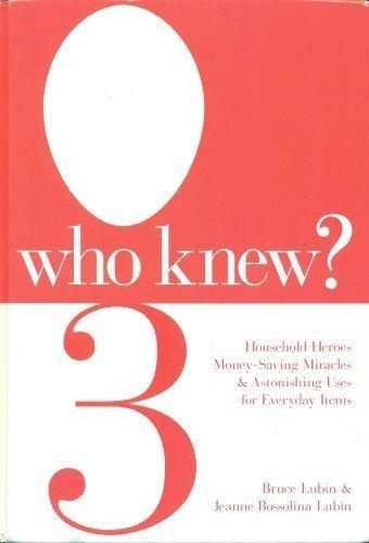 Librarika: WHO KNEW 3 (WHO KNEW?, Volume 3: Supermarket