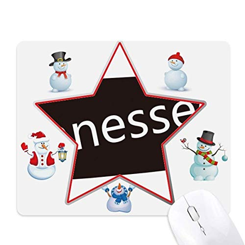 Tennessee USA Map Silhouette Christmas Snowman Family Star Mouse - Tennessee Snowman
