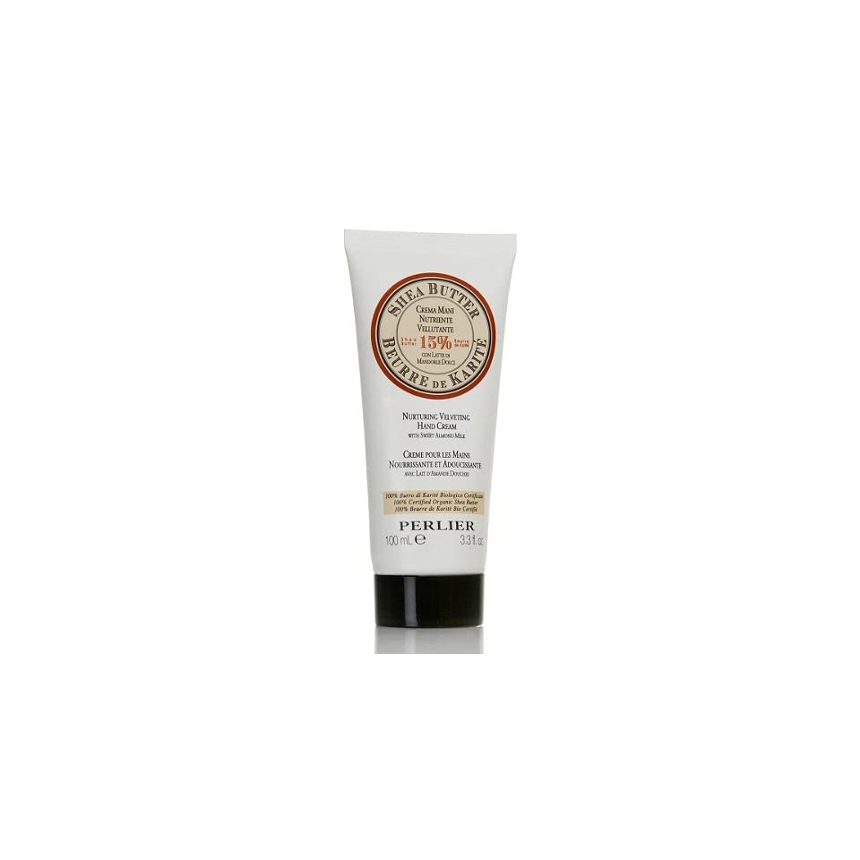 Perlier 3.3 Fl. Oz. Shea Butter Hand Cream with Almound Milk